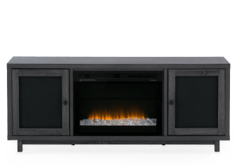 Dimplex - Grey Electric Fireplace product photo