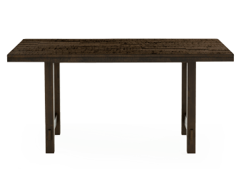 Dark Brown Wood Rectangular Table product photo