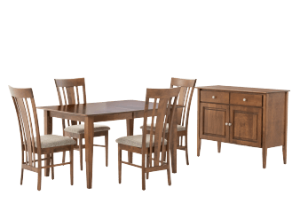 Brown Birch Dining Room Furniture product photo