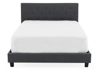 Dark Grey Upholstered - Queen Bed product photo