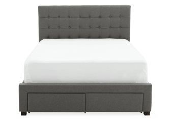 Grey Drawers - King Bed product photo