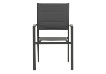 Grey Metal Chair product photo