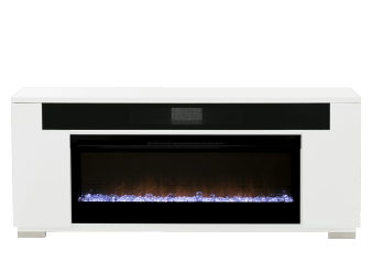 White Electric Fireplace product photo