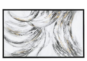 "36x60"" Grey Abstract Painting product photo"