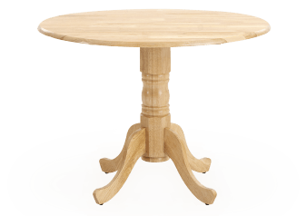Wood Table with Integrated Extentions product photo