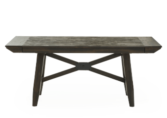 Brown Wood Table with Leafs product photo