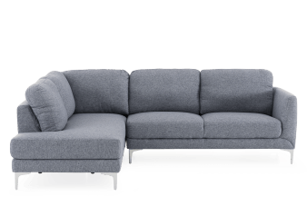Grey Upholstered Sectional Sofa product photo
