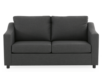 Dark Grey Upholstered Sofa Bed product photo