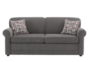 Grey Upholstered Sofa-Bed product photo