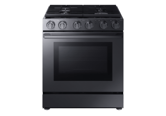 Samsung Built-in Gas Range - NX58M9960PMAA product photo