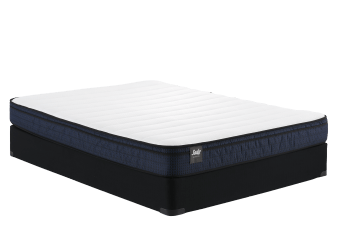 "Sealy Loveme - 9"" Double Mattress and Box Spring product photo"