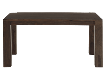 Brown Wood Table with Integrated Extentions product photo