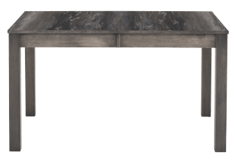 Grey Table with Central Leaf product photo
