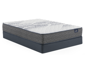 "Serta Naples II TT - 9"" Double Mattress and Box Spring product photo"