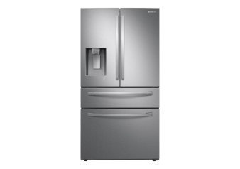 Samsung Bottom Freezer and French Doors Refrigerator - RF28R7201SRAA product photo
