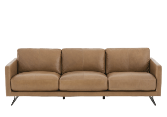 Brown Leather Sofa product photo