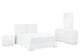 White Bedroom Set - King product photo