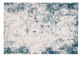 "60x96"" Blue and Grey Rug product photo"