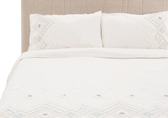 Ivory Cover Set - Queen Size product photo