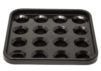 Black Pool Ball Tray product photo