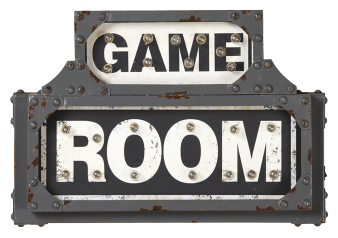 "18.5x12.5"" Game Room Sign product photo"