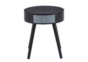 Black and Grey Accent Table product photo
