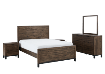 Brown Bedroom Set - King product photo