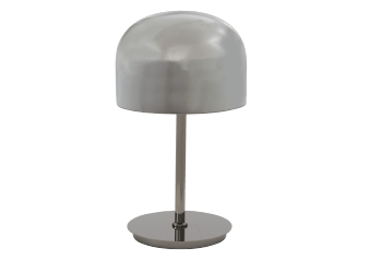 Black Glass and Metal Table Lamp product photo