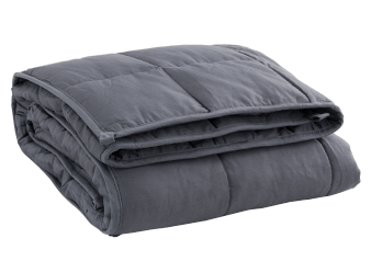 Dark Grey Weighted Blanket - 10lbs product photo