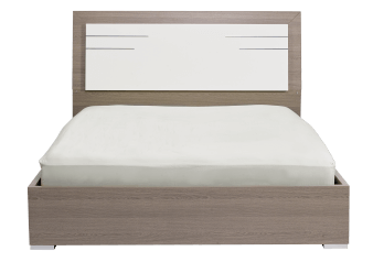White and Grey - King Bed product photo
