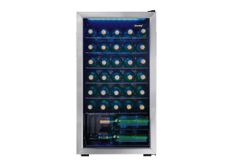 Danby 36 Bottles Wine Cooler - DWC036A1BSSDB-6 product photo