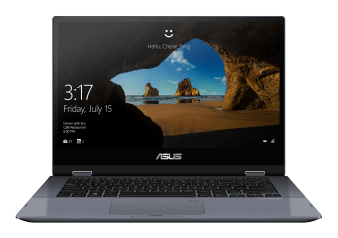 "Asus 14"" Intel Core i3-10110U Laptop - TP412FA-Q3MS1-CB product photo"