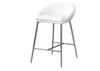 Stool with White Seat product photo