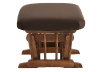 Brown Upholstered Ottoman product photo other02 S