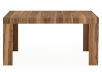 Brown Walnut Rectangular Table with Central Leaf product photo