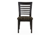 Solid Wood and Upholstered Chair product photo