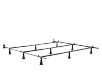 Adaptable Metal Bed Base - Queen King product photo other01 S