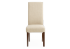 Brown and Beige Upholstered Chair product photo