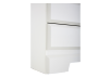 White 6-Drawer Dresser product photo other05 S