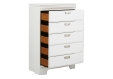 White 5-Drawer Chest product photo other02 S