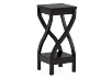 Dark Brown Wooden Plant Side Table product photo other01 S