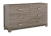 Brown 6-Drawer Dresser product photo other01 S