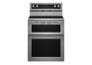 KitchenAid Freestanding Ceramic Cooktop Range - YKFED500ESS product photo