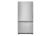 KitchenAid Bottom Freezer Refrigerator - KRBL102ESS product photo