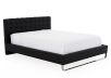 Black Chrome-plated Legs - Queen Bed product photo other01 S