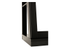 Black Jewelry Cabinet with Mirror product photo other05 S