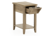 Wood End Table product photo other02 S