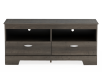 2 Shelves Grey TV Stand product photo