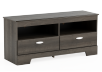 2 Shelves Grey TV Stand product photo other01 S