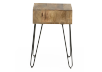 Brown Wood End Table product photo other03 S